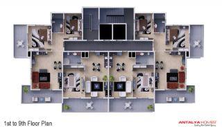 Skyblue Residence, Kat Planları-2