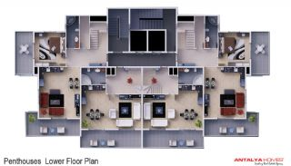 Skyblue Residence, Kat Planları-3