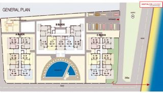 Diamond Beach Apartments, Planritningar-1
