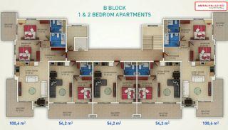 Diamond Beach Apartments, Planritningar-4