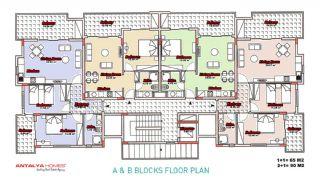 دایاموند بیچ آپارتمان 2, پلان ملک-1