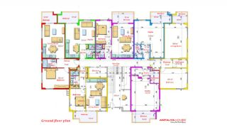Luxurious Apartments Close to the Sea in Avsallar Alanya, Property Plans-1