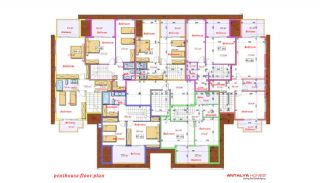 Luxurious Apartments Close to the Sea in Avsallar Alanya, Property Plans-4