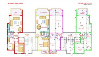 Luxurious Apartments Close to the Sea in Avsallar Alanya, Property Plans-5