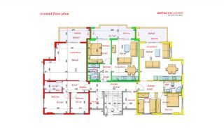 Luxurious Apartments Close to the Sea in Avsallar Alanya, Property Plans-9