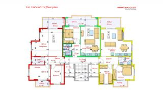 Luxurious Apartments Close to the Sea in Avsallar Alanya, Property Plans-10
