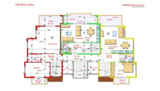 Luxurious Apartments Close to the Sea in Avsallar Alanya, Property Plans-11