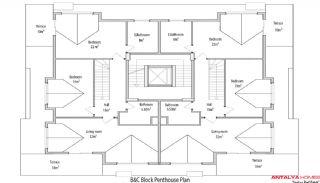 Sun Palace River Sitesi, Kat Planları-11