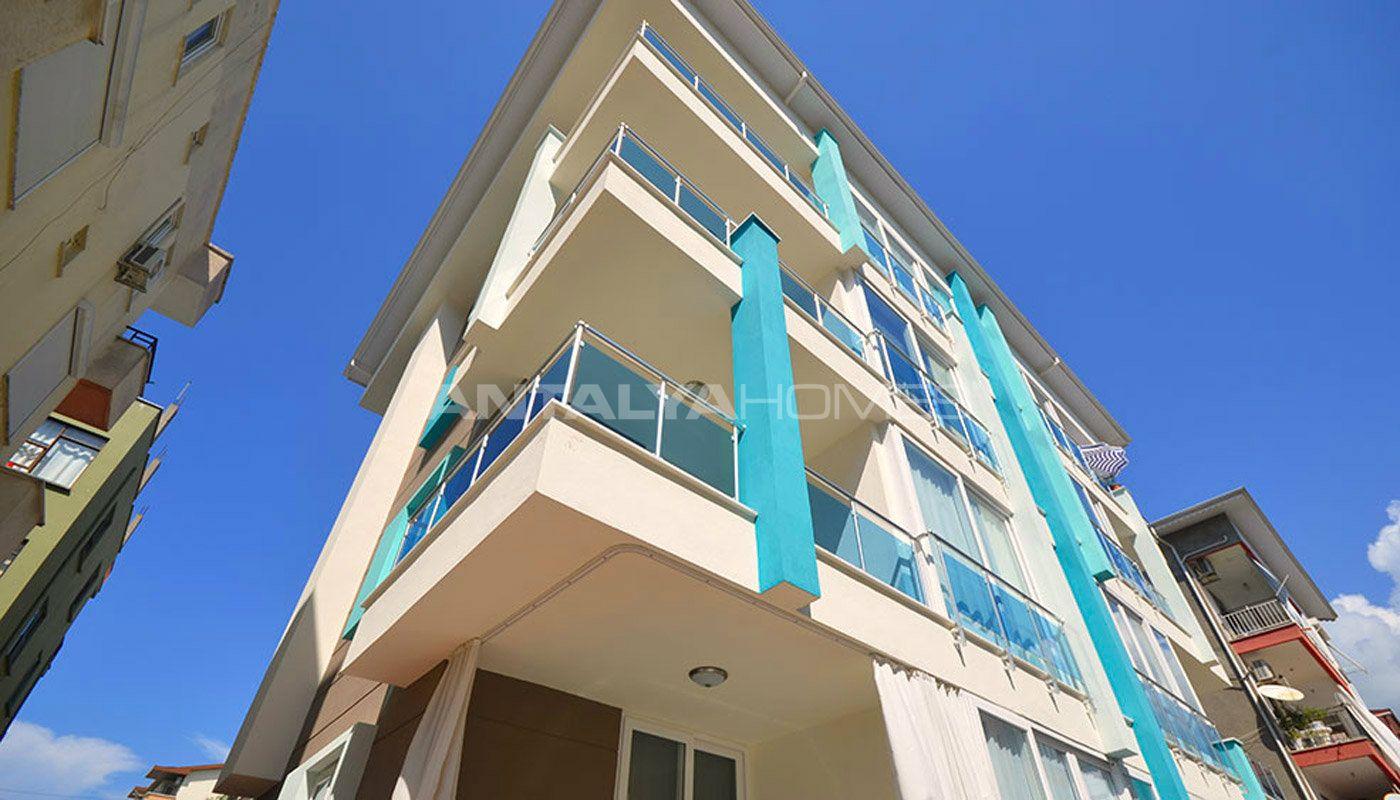 Alanya city flats 1 bedroom apartments close to the sea for Big city apartments
