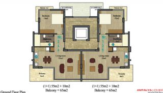Appartements Alanya City, Projet Immobiliers-1