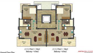 Alanya City Wohnungen, Immobilienplaene-1