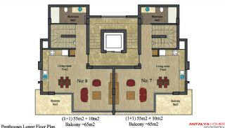 Appartements Alanya City, Projet Immobiliers-2