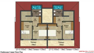 Alanya City Wohnungen, Immobilienplaene-3