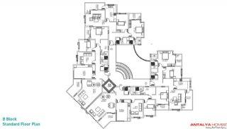 Kestel Residence, Kat Planları-4