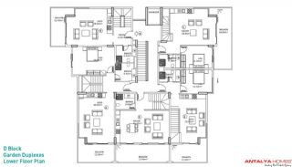Kestel Residence, Planritningar-7