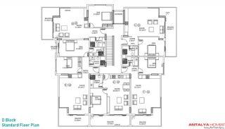 Kestel Residence, Planritningar-9