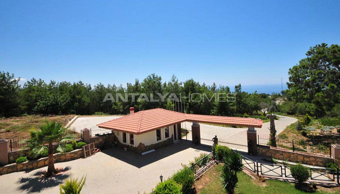 Luxury Sea View Villa For Sale In Alanya