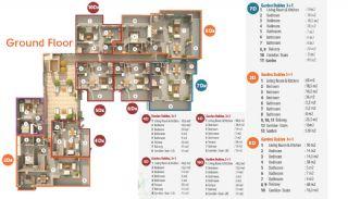 Habitat Hill Apartmanı, Kat Planları-1