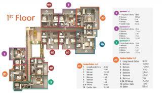 Habitat Hill Apartmanı, Kat Planları-2