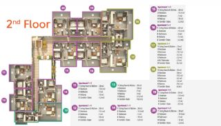 Habitat Hill Apartmanı, Kat Planları-3
