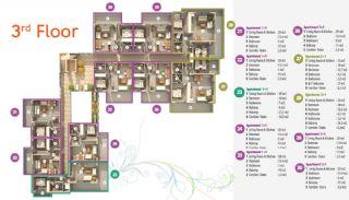 Habitat Hill Apartmanı, Kat Planları-4