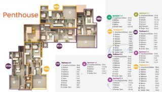 Habitat Hill Apartmanı, Kat Planları-6