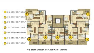 Kestel Seaside Apartments, Property Plans-2