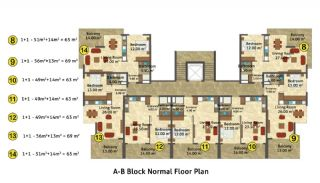Kestel Seaside Apartments, Property Plans-3