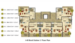 Kestel Seaside Apartments, Property Plans-4