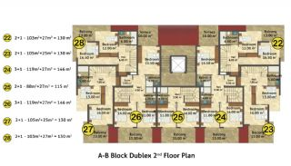 Kestel Seaside Apartments, Property Plans-5