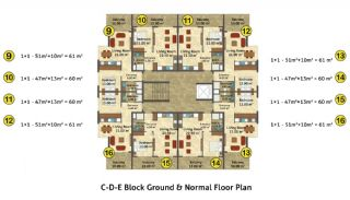 Kestel Seaside Apartments, Property Plans-6