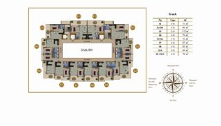 Calista Premium Residence, Kat Planları-1