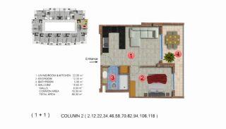 Calista Premium Residence, Kat Planları-3