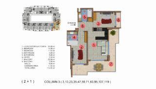 Calista Premium Residence, Kat Planları-4