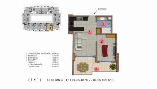 Calista Premium Residence, Kat Planları-5