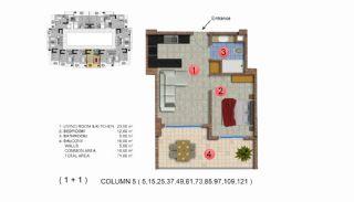 Calista Premium Residence, Kat Planları-6