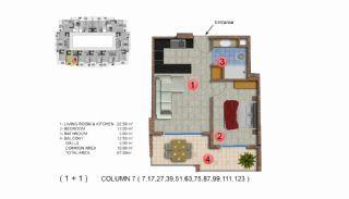 Calista Premium Residence, Kat Planları-8