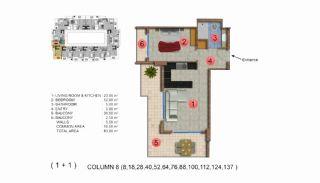 Calista Premium Residence, Kat Planları-9