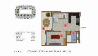 Calista Premium Residence, Kat Planları-10