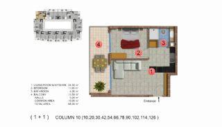 Calista Premium Residence, Kat Planları-11