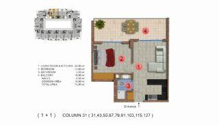Calista Premium Residence, Kat Planları-12