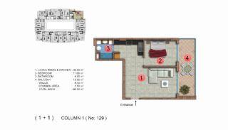 Calista Premium Residence, Kat Planları-14