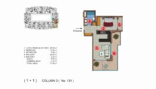 Calista Premium Residence, Kat Planları-15