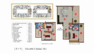 Calista Premium Residence, Kat Planları-16