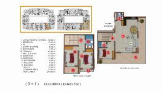 Calista Premium Residence, Kat Planları-17