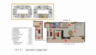 Calista Premium Residence, Kat Planları-18