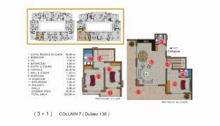 Calista Premium Residence, Kat Planları-19