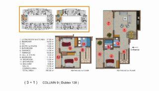 Calista Premium Residence, Kat Planları-20