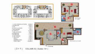 Calista Premium Residence, Kat Planları-21