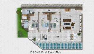 Nature Apartmanı, Kat Planları-5